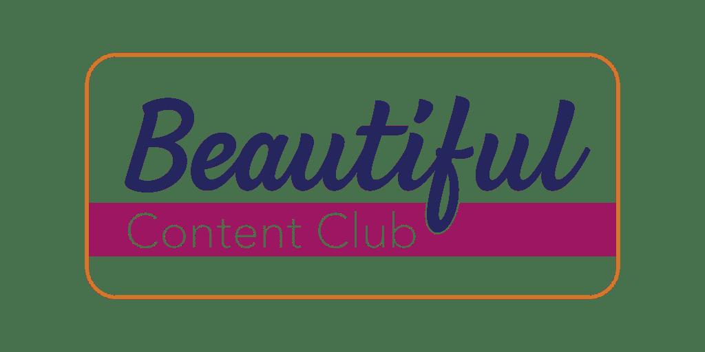 Beautiful Content Club Logo